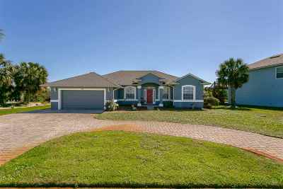 St Augustine Beach Single Family Home For Sale: 15 Ocean Trace Road