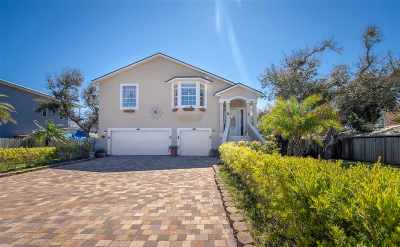 Vilano Beach Single Family Home For Sale: 305 Tenth St.