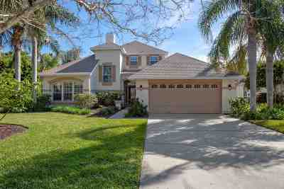 St Augustine Single Family Home For Sale: 165 South Beach Drive