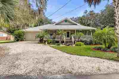 St Augustine Single Family Home For Sale: 405 Old Quarry Rd