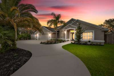 St Augustine Beach FL Single Family Home For Sale: $515,000