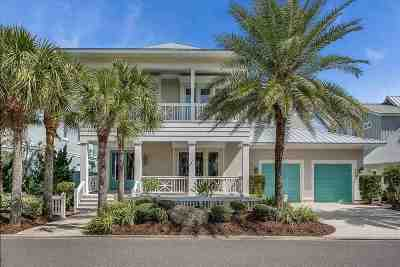 Marsh Creek, Sea Colony-St Single Family Home For Sale: 712 Ocean Palm Way