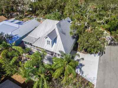 St Augustine Beach FL Single Family Home For Sale: $530,000