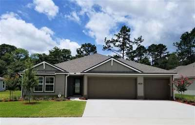 St Augustine Single Family Home For Sale: 114 Trianna Dr