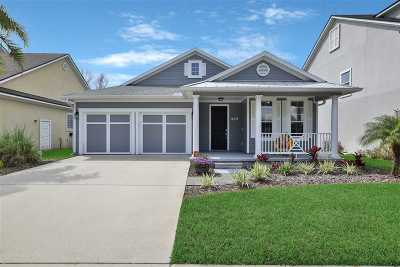 St Augustine Beach FL Single Family Home Conting_accpt Backups: $399,900