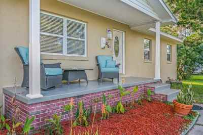 St Augustine Beach FL Single Family Home Conting_accpt Backups: $299,900