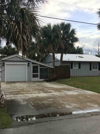 St Augustine Single Family Home For Sale: 255 Pizarro