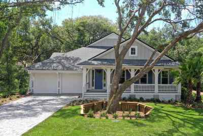 St Augustine Beach FL Single Family Home For Sale: $714,900