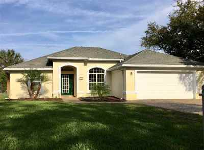 St Augustine Single Family Home For Sale: N 924 Griffin Shores