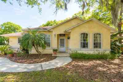 St Augustine Single Family Home For Sale: 5242 Ellen Ct.