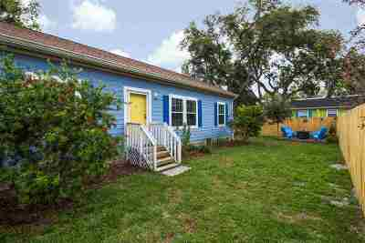 St Augustine Single Family Home Contingent: 78 Pearl Street