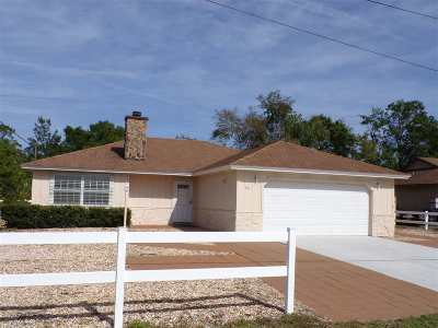 St Augustine Single Family Home For Sale: 241 Segovia Rd.
