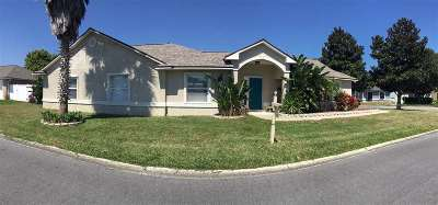 St Augustine Single Family Home For Sale: 604 Bamboo
