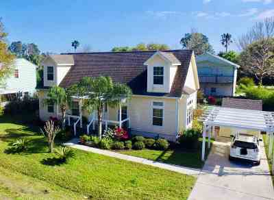 St Augustine Beach FL Single Family Home For Sale: $359,000