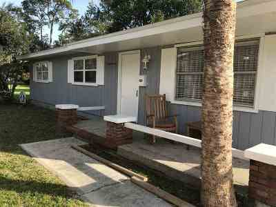 St Augustine FL Single Family Home For Sale: $170,000