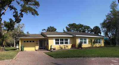 St Augustine Single Family Home For Sale: 84 Coquina Ave.