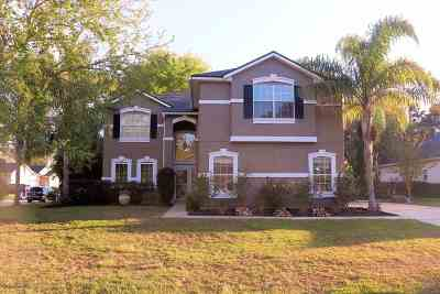 St Augustine Single Family Home For Sale: W 3801 Glendale Court