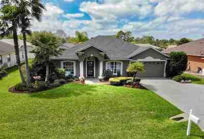 Palm Coast Single Family Home For Sale: 6 Walt Pl.