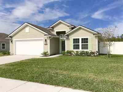 St Augustine Single Family Home For Sale: 576 Crescent Key Drive