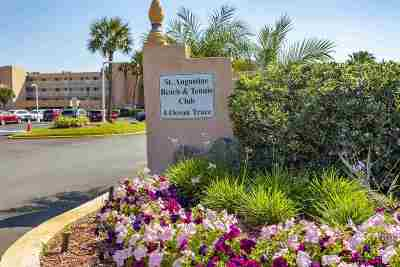 St Augustine Condo For Sale: 4 Ocean Trace Rd. #111