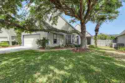 St Augustine Single Family Home For Sale: N 106 Lake Cir