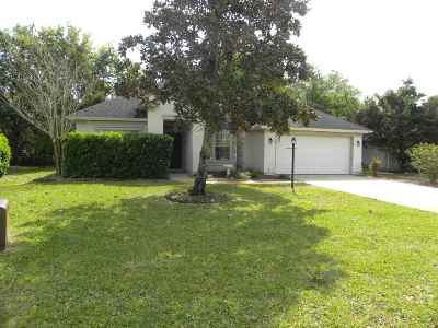 St Augustine Single Family Home For Sale: 164 Summerhill Circle