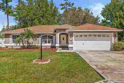 Palm Coast FL Single Family Home For Sale: $179,900