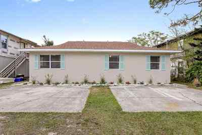 St Augustine Multi Family Home For Sale: 206 9th