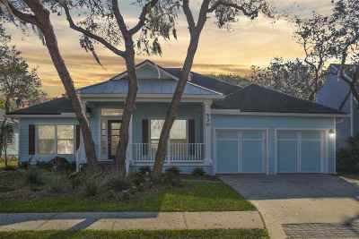 St Augustine Beach Single Family Home For Sale: 530 Weeping Willow Ln
