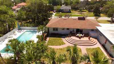 St Augustine Single Family Home For Sale: 200 Zoratoa Avenue