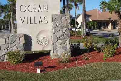 St Augustine Beach Condo For Sale: 850 A1a Beach Blvd #35