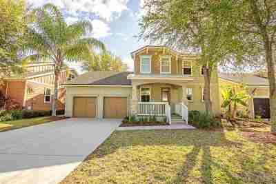 St Augustine Single Family Home Contingent: 1112 Overdale
