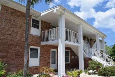 St Augustine Condo Contingent: 83 Comares W/Boatslip #7B and B