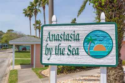 St Augustine Beach Condo For Sale: 204 16th Street - Furnished #D