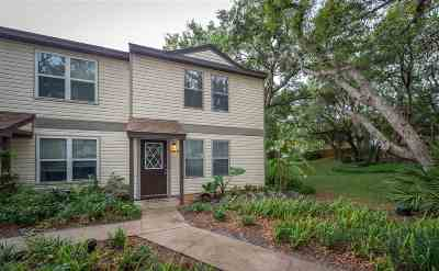 St Augustine Beach FL Townhouse Conting_accpt Backups: $179,500
