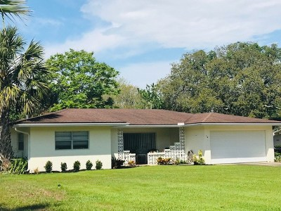 Single Family Home For Sale: 14 Coquina Blvd