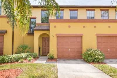 St Augustine Townhouse For Sale: 54 Hannah Cole Dr