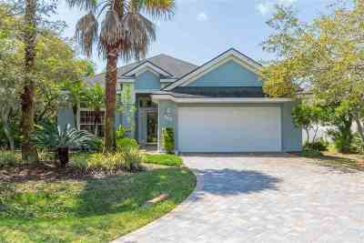 St Augustine Beach Single Family Home For Sale: 507 Ocean Mist Ct.