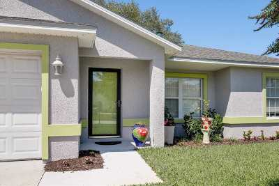 St Augustine Single Family Home Conting_accpt Backups: 390 Trade Wind Lane