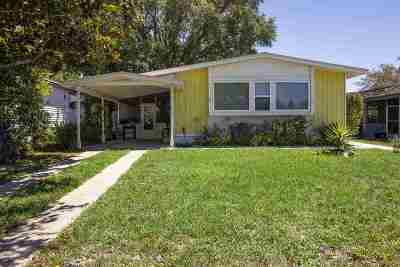 St Augustine Single Family Home Contingent: 167 Phoenetia Drive
