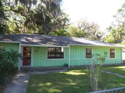 St Augustine FL Single Family Home Contingent: $161,500