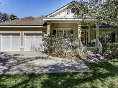 St Augustine Beach Single Family Home For Sale: 852 Tides End Drive