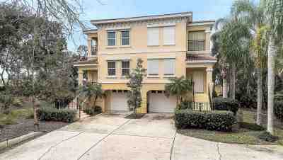 St Augustine Townhouse For Sale: 1904 Windjammer Ln