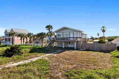 Vilano Beach, Villages Of Vilano Single Family Home Contingent: 3032 Coastal Highway