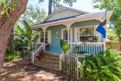 St Augustine FL Single Family Home For Sale: $369,000