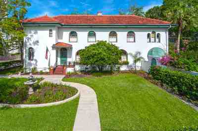 St Augustine Single Family Home For Sale: 39 Valencia St.