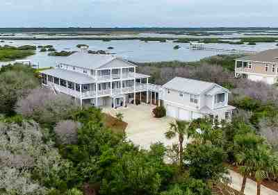 St Augustine Single Family Home For Sale: S 8165 Historic And Coastal Byway
