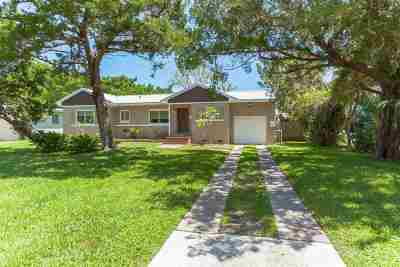 St Augustine FL Single Family Home For Sale: $260,000