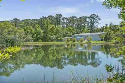 St Augustine Single Family Home For Sale: 3230 Joe Ashton Rd