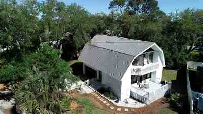 St Augustine Single Family Home For Sale: 515 15th Street